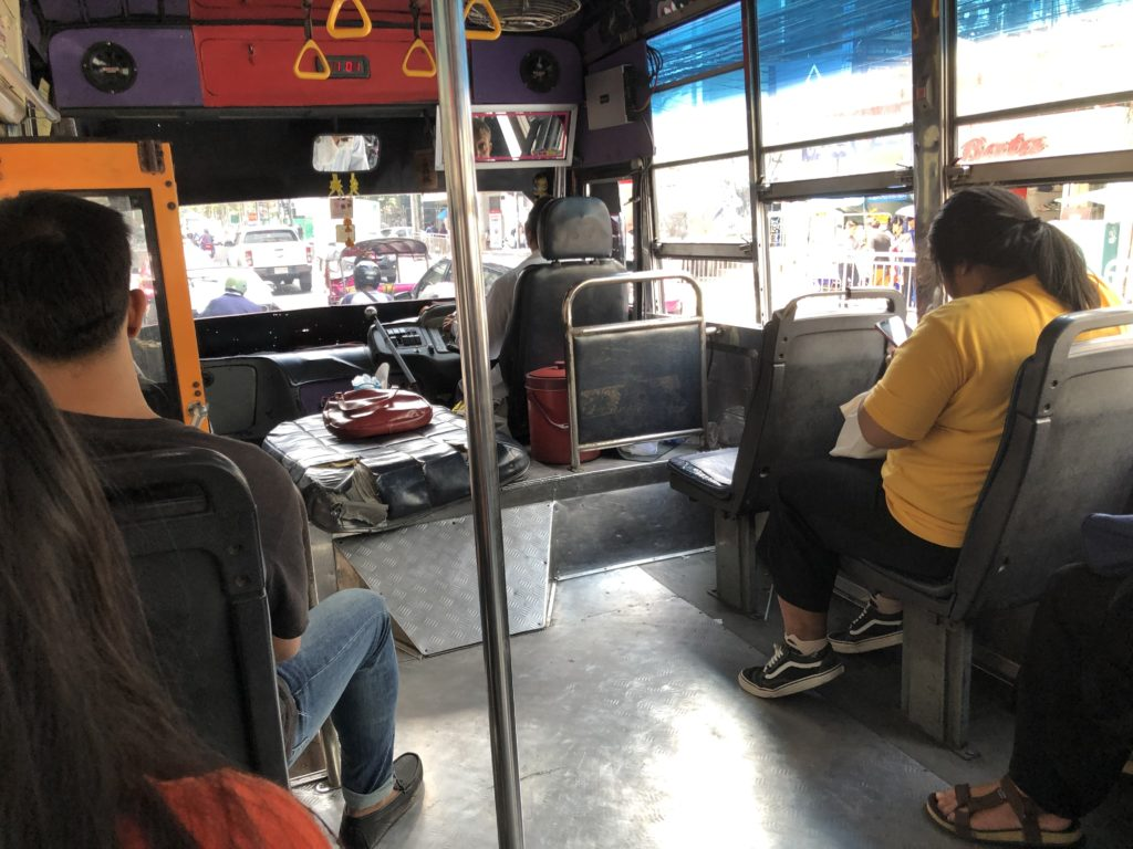 バンコクの路線バス