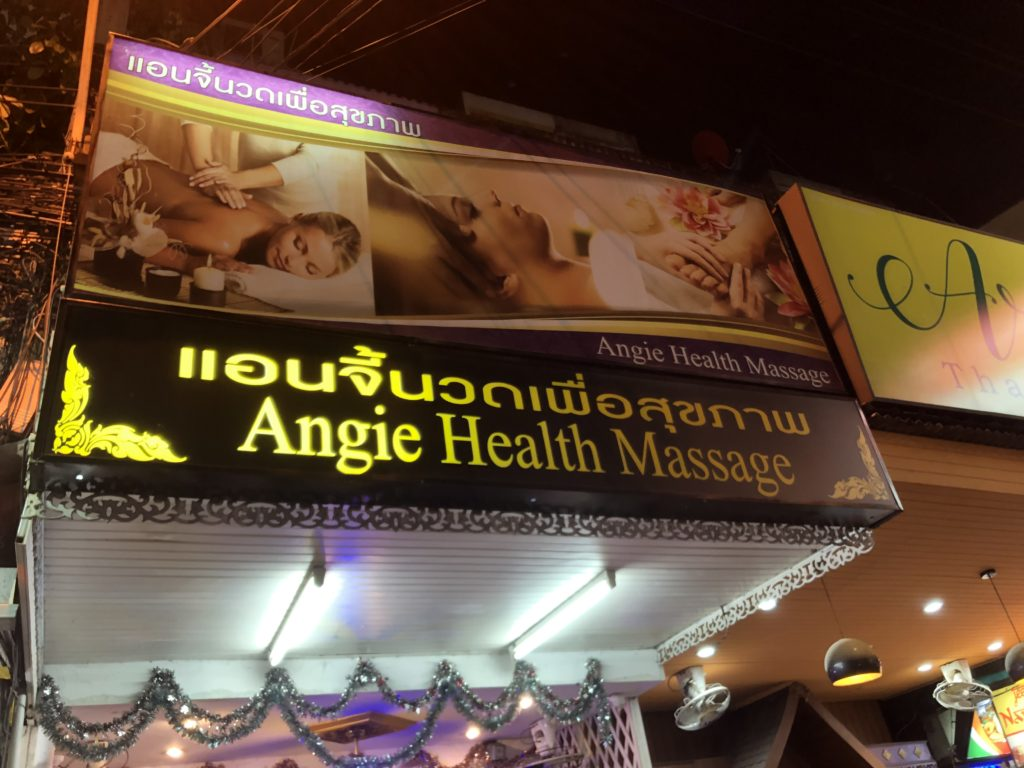 Angie Health Massage
