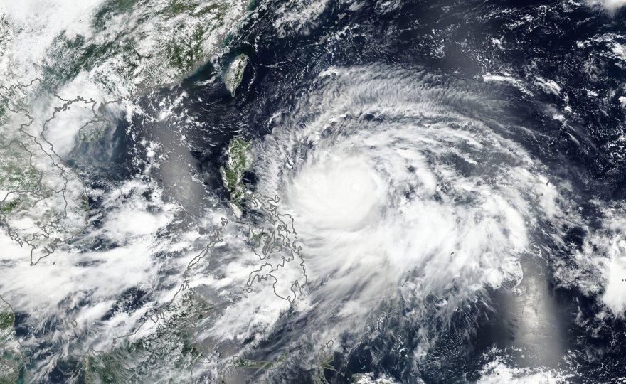 タイは台風が無い国